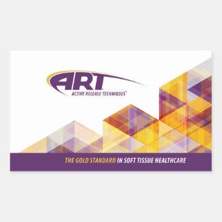 ART® Rectangular Sticker