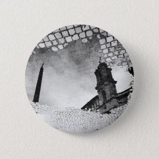 Art reflected 2 inch round button