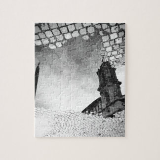 Art reflected jigsaw puzzle