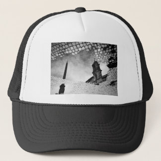 Art reflected trucker hat