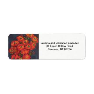 Art Return Address Label