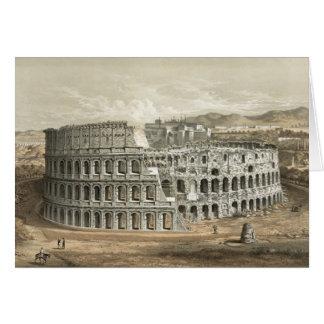 Art romain de cru de Colisé Carte De Vœux