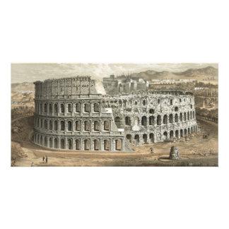 Art romain de cru de Colisé Modèle Pour Photocarte