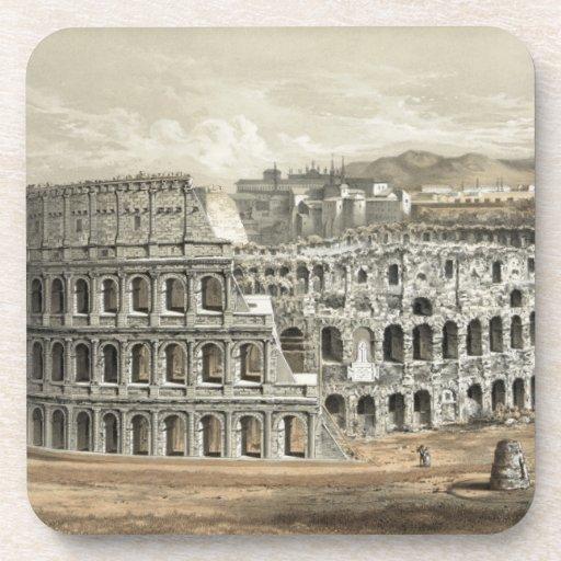 Art romain de cru de Colisé Dessous-de-verre