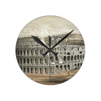 Art romain de cru de Colisé Horloge Ronde