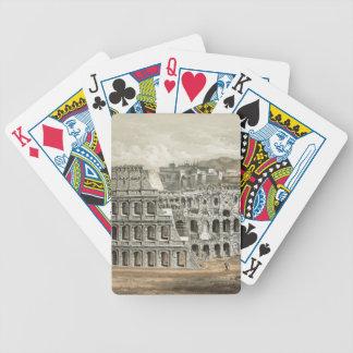 Art romain de cru de Colisé Jeu De Poker
