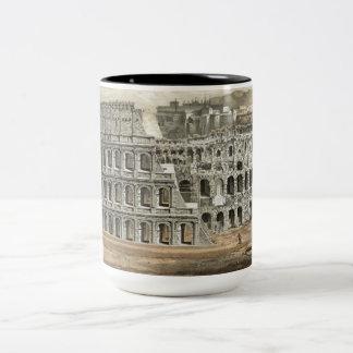 Art romain de cru de Colisé Mug