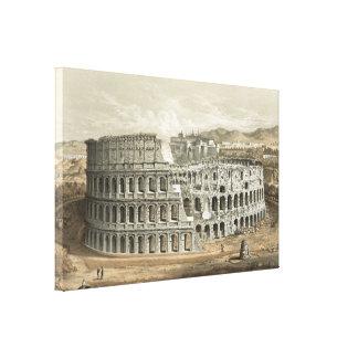 Art romain de cru de Colisé Toiles Tendues