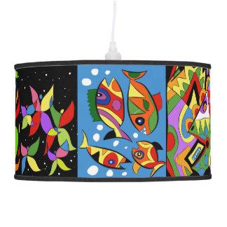 Art salad pendant lamp