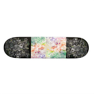 art scate board style skateboard deck