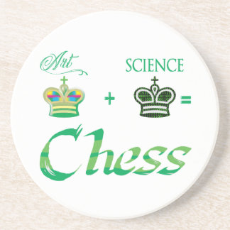 art+science=Chess Coaster
