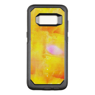 art seamless color yellow background watercolor OtterBox commuter samsung galaxy s8 case