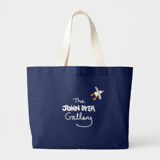 Art Shopping Bag: The John Dyer Gallery, Seagull Jumbo Tote Bag