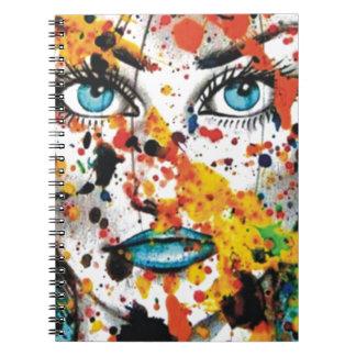 Art Student Spiral Notebook