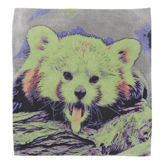Art Studio 12216 yawning red panda Bandana