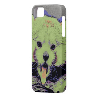 Art Studio 12216 yawning red panda iPhone 5 Cover