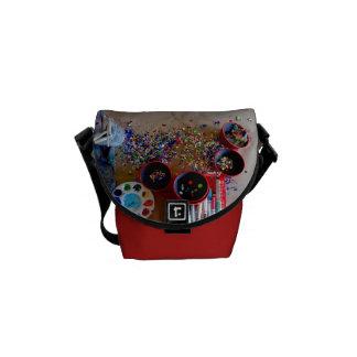 Art Studio Messenger Bag