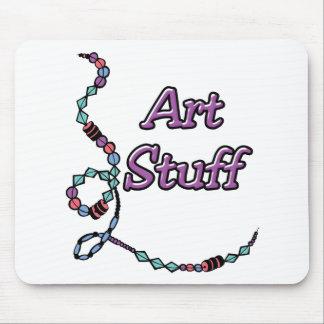 Art Stuff Mouse Pad