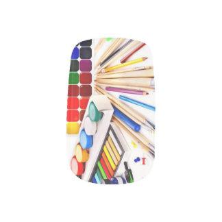 Art Supplies Nail Stickers