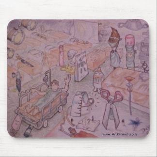 Art Surgery Mouse Pad
