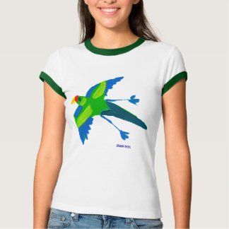 Art T-Shirt: Parrot and birds T-Shirt
