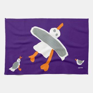 Art Tea Towel: John Dyer Seagull Towel