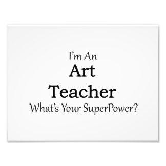 Art Teacher Photograph