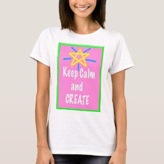 Art Teacher Shirt - Keep Calm and Create
