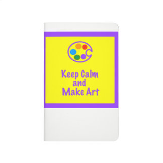 Art Teacher Sketchbook - Keep Calm and Make Art 2 Journal
