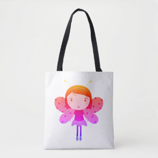 Art tote bag with Magical fairie. New in Studio!