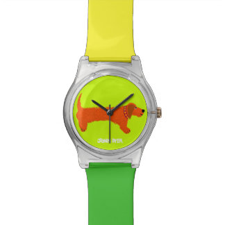 Art Watch: Sausage Dog Wristwatches