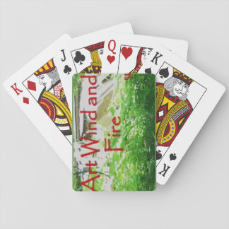 Art Wind and Fire playing cards