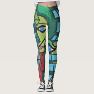 Artandra Abstract Art Leggings