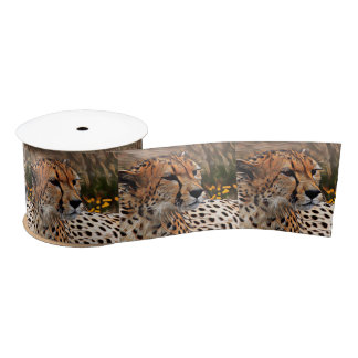 ArtAnimal Cheetah Satin Ribbon