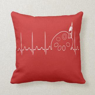 ArtBeat Throw Pillow