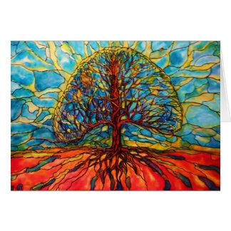 ArtByRae - Tree of Life Postcard