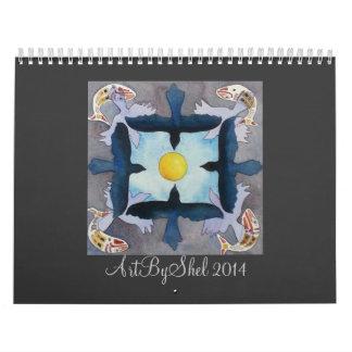 ArtByShel 2014 Calendar