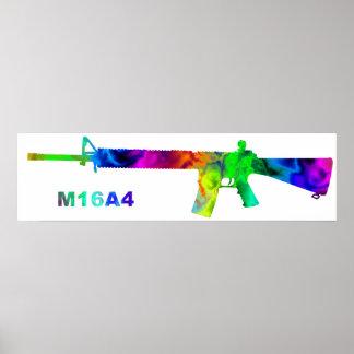 artdeck 5, M16 outline Poster