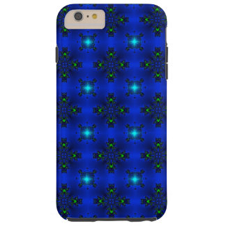 Artdeco Abstract Flowers and Stars Tough iPhone 6 Plus Case