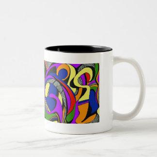 ArtDeco Two-Tone Coffee Mug