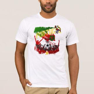 """Arte E Futebol Português - """"Portugal Allez"""" T-Shirt"""