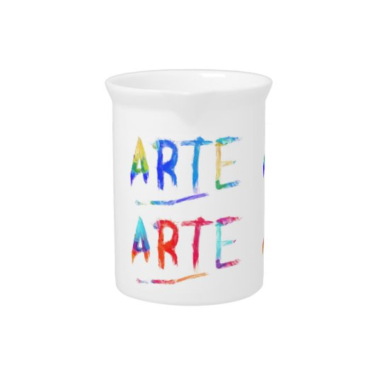 Arte Grafitti Pitcher