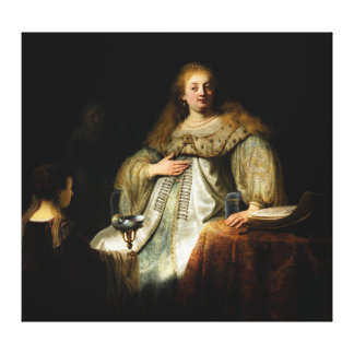 Artemisia by Rembrandt 1634 Canvas Prints