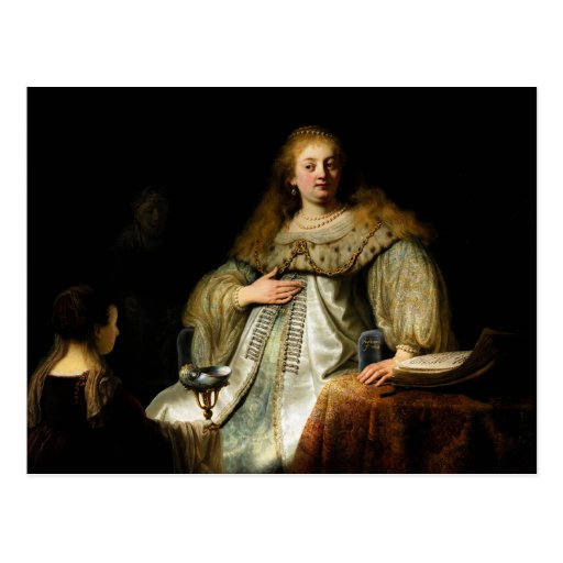 Artemisia by Rembrandt (1634) Post Cards