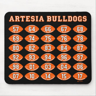 Artesia Bulldogs Football State Champs Mousepad