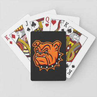 Artesia Bulldogs Playing Cards