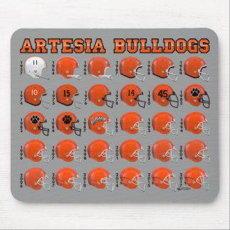 Artesia Bulldogs State Champs Helmet Mousepad