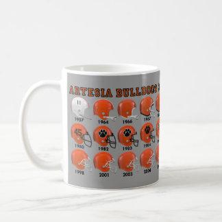Artesia Bulldogs State Champs Helmet Mug