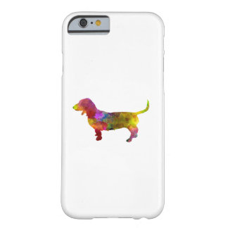 Artesian Norman Basset in watercolor Barely There iPhone 6 Case