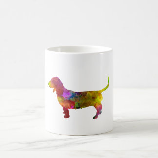 Artesian Norman Basset in watercolor Coffee Mug